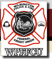 Wilmington Police and Fire Federal Credit Union logo, WPFFCU logo,
